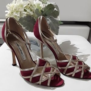 Brian Atwood Peep Toe Shoes Size 8.5